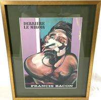 Francis Bacon Original Dlm Cover Lithograph No 162 Derriere Le Miroir First Edition 1966 (3 of 7)