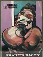 Francis Bacon Original Dlm Cover Lithograph No 162 Derriere Le Miroir First Edition 1966 (4 of 7)