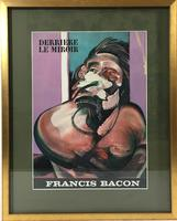 Francis Bacon Original Dlm Cover Lithograph No 162 Derriere Le Miroir First Edition 1966 (2 of 7)