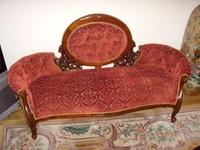 Victorian Style Double Ended Spring Sofa