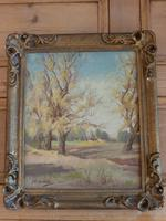 Oil Painting Autumn in the Transvaal Edward Charles Moore Craighall Johannesburg 1930's