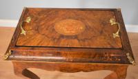 Victorian Inlaid Walnut Jardiniere / Planter (3 of 7)
