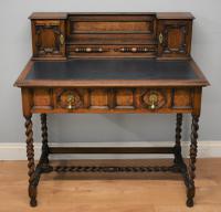 19th Century Shapland & Petter Oak Desk