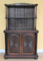 Victorian Rosewood Dresser Cupboard