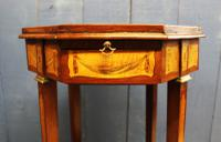 19th Century Mahogany & Satinwood Neoclassical Urn Stand C.1890 (3 of 12)