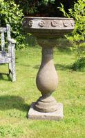Pedestal Base Garden Planter. Vintage Jardinière. Early 20th Century (2 of 4)