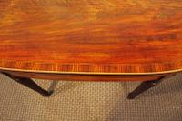 Regency Inlaid Mahogany Card or Games, Table (5 of 7)