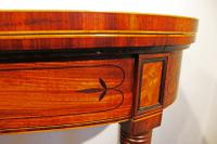 Regency Inlaid Mahogany Card or Games, Table (7 of 7)
