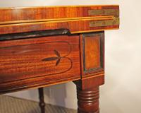 Regency Inlaid Mahogany Card or Games, Table (3 of 7)