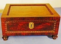 Georgian Jewellery Casket / Work Box C.1820