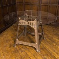 Victorian Industrial Cast Iron Table