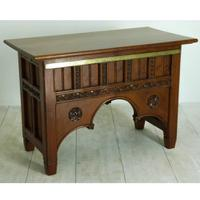 Victorian Pitch Pine Altar Table c.1875
