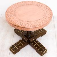 Copper Topped Bar Table (5 of 10)