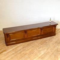 Large Victorian Mahogany Bar/Counter