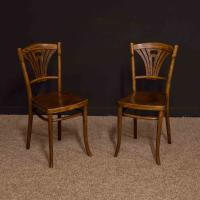 Pair of Thonet Bentwood Chairs c.1920