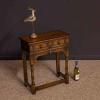 Titchmarsh & Goodwin Oak Side Table