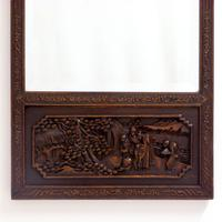 Carved Chinese Mirror c.1920 (2 of 9)