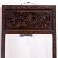 Carved Chinese Mirror c.1920 (5 of 9)