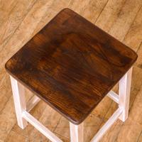 Set of Four Chemistry Laboratory Stools (6 of 8)