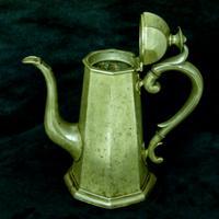 'Georgian Style' Victorian Coffee Pot c.1890 (5 of 8)