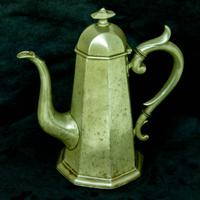 'Georgian Style' Victorian Coffee Pot c.1890