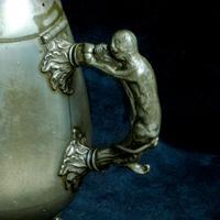 Victorian Britannia Metal Tea Pot c.1890 (9 of 13)