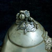 Victorian Britannia Metal Tea Pot c.1890 (8 of 13)