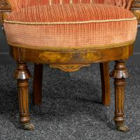 Pair of Boudoir Chairs c.1890 (9 of 11)