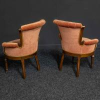 Pair of Boudoir Chairs c.1890 (3 of 11)