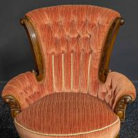 Pair of Boudoir Chairs c.1890 (5 of 11)