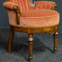 Pair of Boudoir Chairs c.1890 (10 of 11)