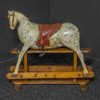 Naïve Victorian Rocking Horse