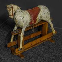 Naïve Victorian Rocking Horse (5 of 12)