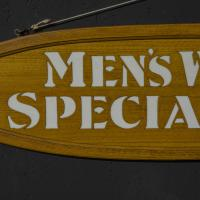 Pair of Edwardian Oak Framed Tailors Signs (5 of 10)