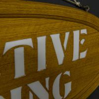 Pair of Edwardian Oak Framed Tailors Signs (8 of 10)