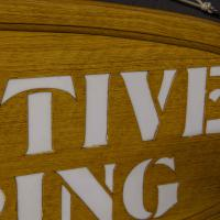Pair of Edwardian Oak Framed Tailors Signs (9 of 10)