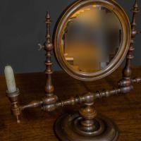 Georgian Mahogany Toilet Mirror (3 of 11)