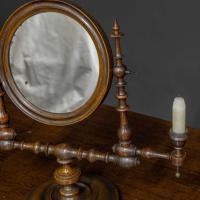 Georgian Mahogany Toilet Mirror (4 of 11)
