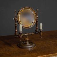 Georgian Mahogany Toilet Mirror (6 of 11)