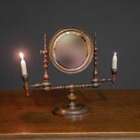 Georgian Mahogany Toilet Mirror (2 of 11)