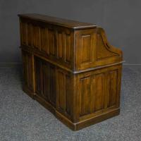 Edwardian Oak Roll Top Desk (11 of 11)