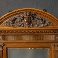 Victorian Walnut Hall Mirror (3 of 8)