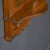 Victorian Walnut Hall Mirror (8 of 8)