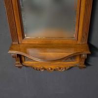 Victorian Walnut Hall Mirror (4 of 8)