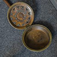 Victorian Brass Warming Pan (3 of 5)
