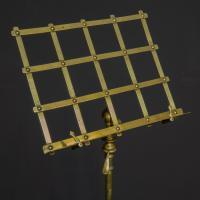 Edwardian Brass Music Stand (3 of 8)
