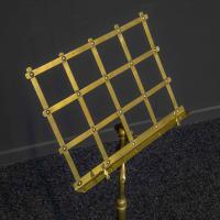 Edwardian Brass Music Stand (4 of 8)