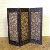 Victorian Oak Framed Tapestry Screen