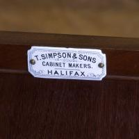 T.Simpson & Sons Mahogany Side Cabinet c.1905 (19 of 26)