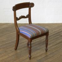 Set of 6 William IV Mahogany Chairs c.1835 (4 of 8)